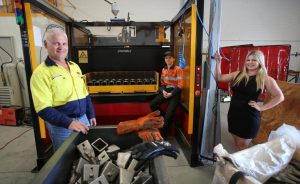 Tim Pannell's business is a family affair, with his daughters Joanne and Amy chipping in. Credit: Picture: Sharon Smith