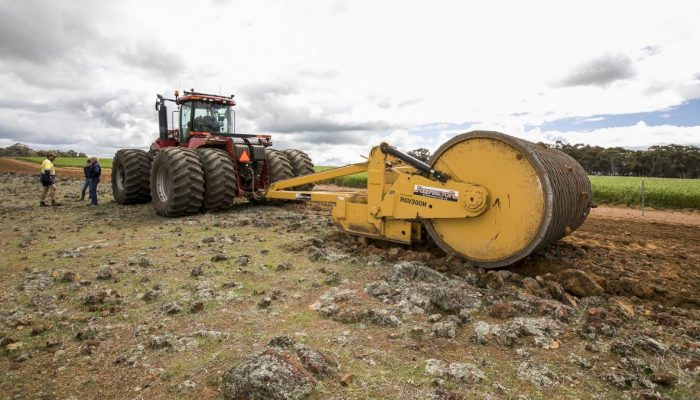 WA-built Reefinator a ripping success This is becoming a more common sight in Australian agriculture as farmers turn to the WA-made Reefinator to rehabilitate rocky country that is usually left untouched.
